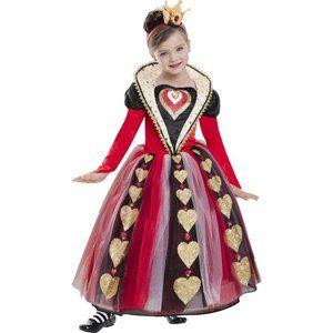 New Queen of Hearts girl costume
